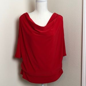 For Cynthia cold shoulder top